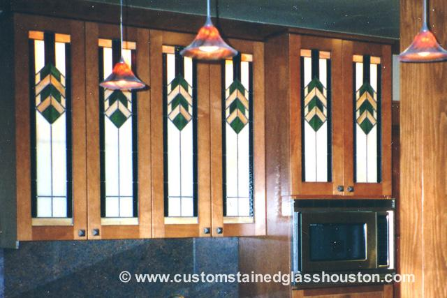 Stained Glass Kitchen Window San Antonio