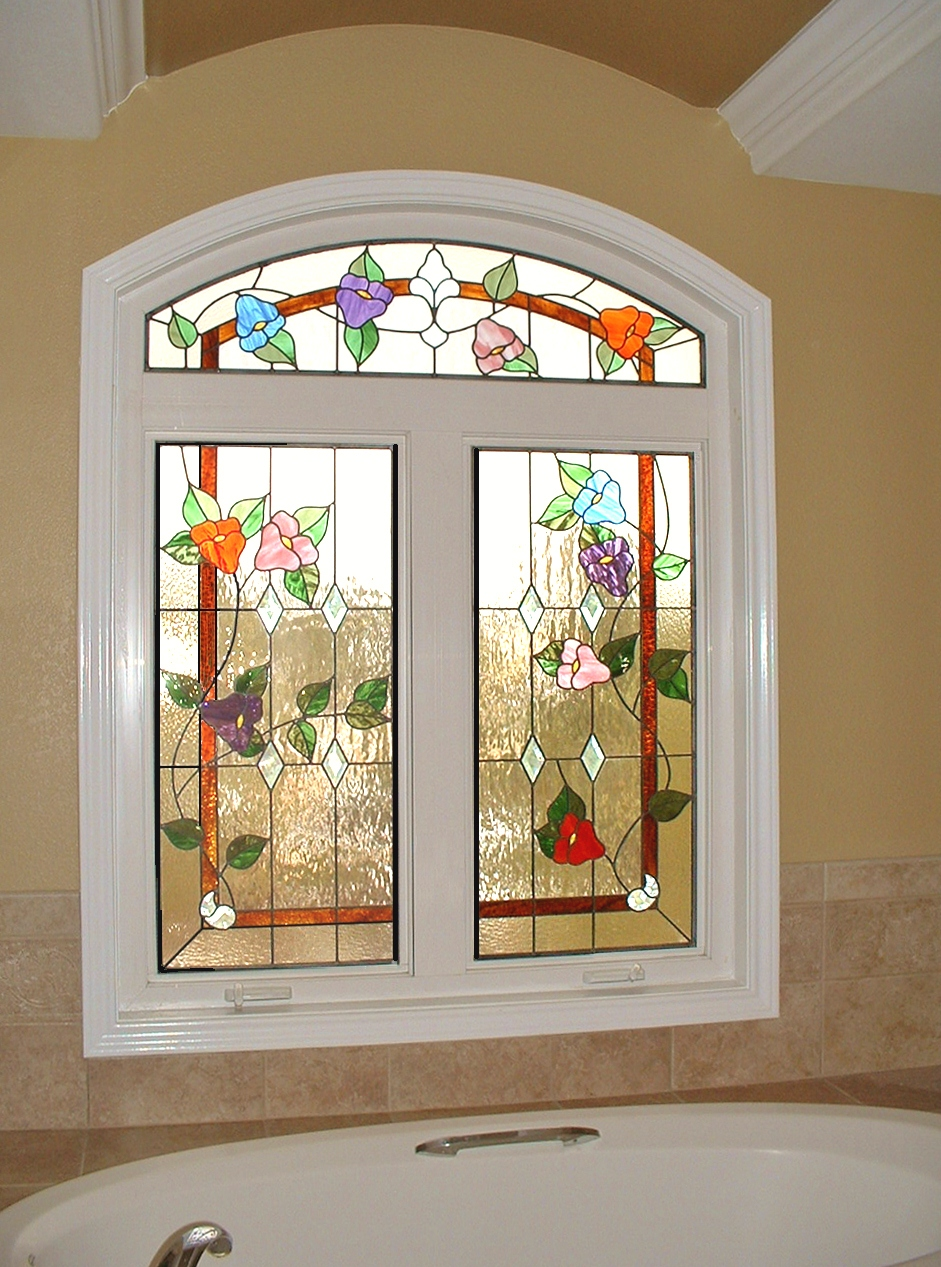 Custom stained glass process custom stained glass houston for Custom design windows