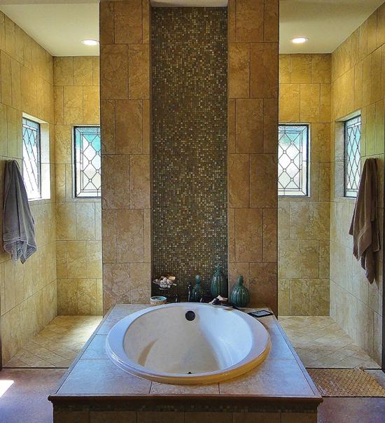 bathroom stained glass windows houston