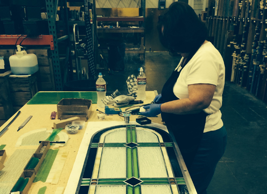 houston stained glass repair
