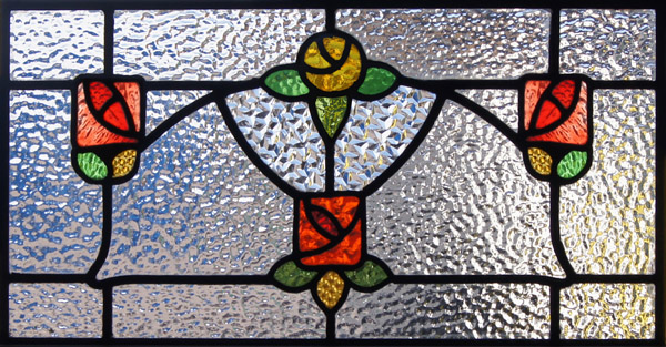 Mackintosh Inspired Stained Glass Perfect For Your
