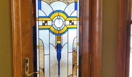 stained glass houston home remodel