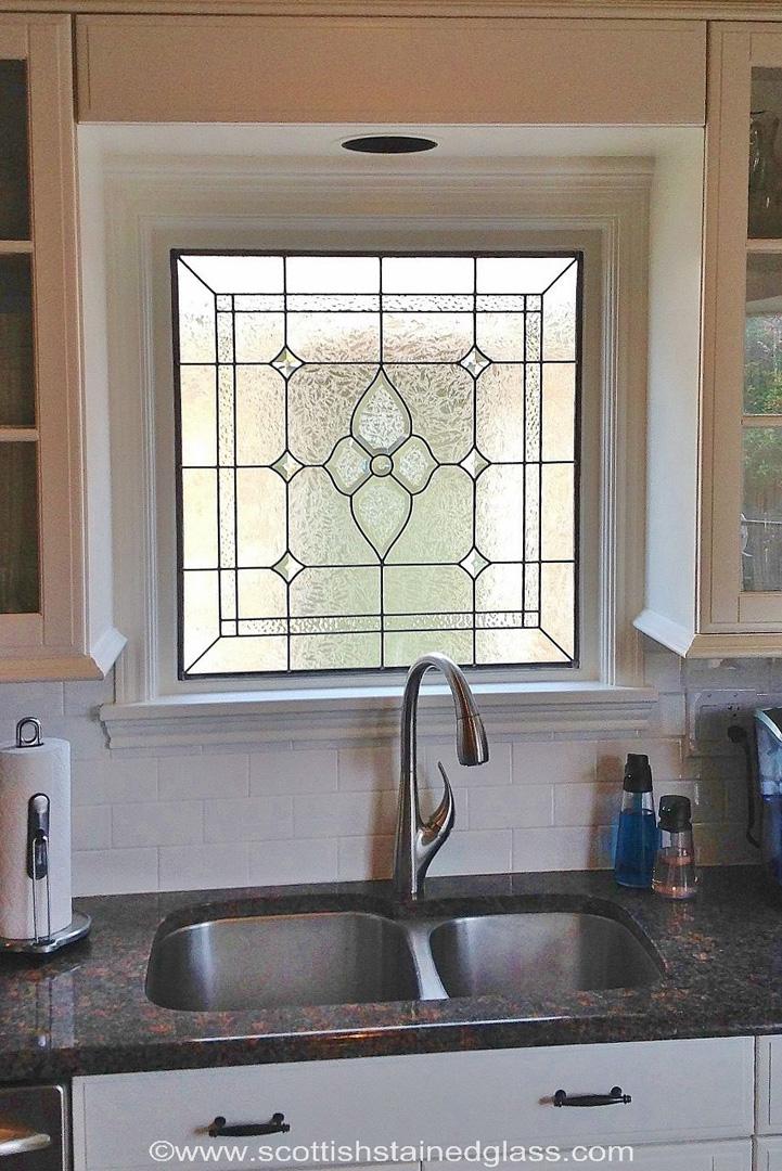 beveled glass kitchen houston