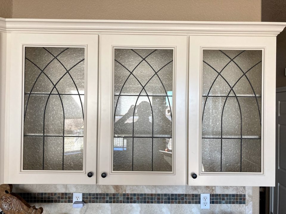 cabinet stained glass houston